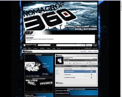 Myspace Layout to NomaGrof by caizzzdigital