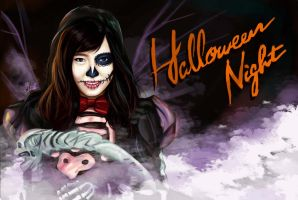Paruru Helloween Night 2 by BUTTERFL0W