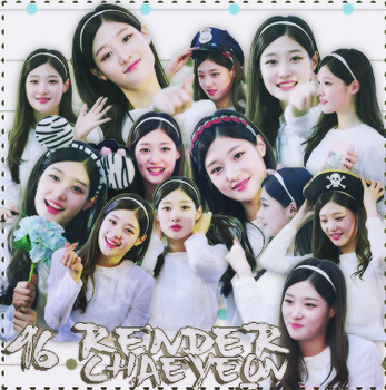[SHARE RENDER] CHAEYEON - DIA/IOI by KhanhLinhCucheoo