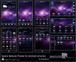 Space Nebula Android theme by malytopol