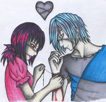 Zombie Love by PastelPunk