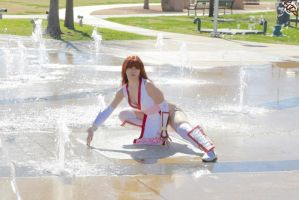 Kasumi in Fountain by HollyGloha