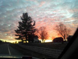The Sky (Car View 2) by Emily-artfreak-nerd