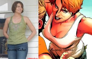 Blaze T.V. Series Fan Cast - Roxanne Simpson V.1 by RobertTheComicWriter