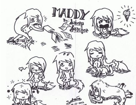 Maddy Chibis by DragonSoul48