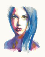 Blue Thoughts by estherproductos