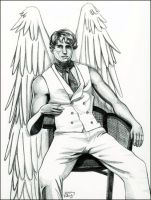 Warren Worthington III by angelcondom
