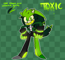 Toxic the Porcupine (BACKSTORY ADDED) by Maddzee