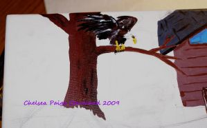 Close up - Reflection Eagle by Chelsea-C
