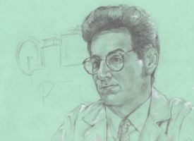 Sketch: Green-Egon by VultureEye