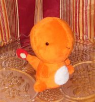 Charmander Pokedoll by StitchyGirl