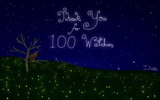 Thank You for 100 Watchers by ImmyWimmy1