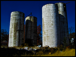 silly silos by theblueberrybush