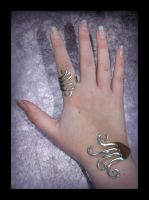 Fork Ring and Cuff by forgedirony