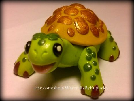 Speedy Turtle Pet - World of Warcraft Inspired by Euphyley