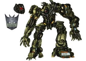 Devastator concept colored by Ra88