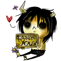 Thank you Chibi by KorpseBride