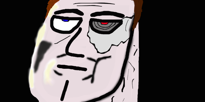 unimpressed terminator by wolfman1000000