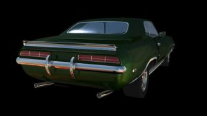 Muscle Car WIP 2 by FrankyPlata
