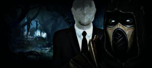 Fear is the Key (Scorpion vs The Slenderman) by MKUltra159