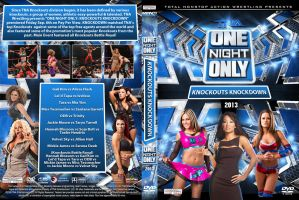 TNA One Night Only Knockouts KnockDown DVD Cover by Chirantha