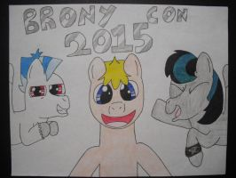 Brony Con 2015 with some of my favorite Bronys! =D by Gamingbrony88