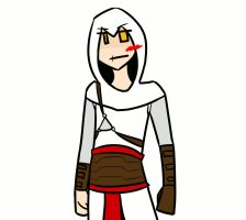 Altair loves Hot Chocolate by JCgurl201