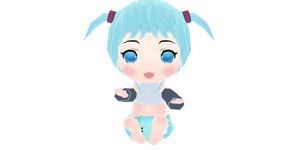 Download - Baby Miku by YamiSweet