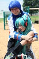 Vocaloid- Teeter-Totter Fun by XxNaomi-LukarixX