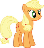 Applejack Hello There by shaynelleLPS