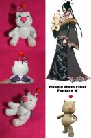 Moogle from Final Fantasy X by lkcrafts