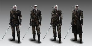 Witcher's armors concept 4 by Afternoon63