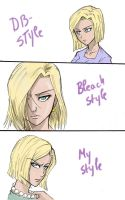 Same person, diff. styles-C18 by Michsi