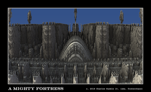 a mighty fortress by fraterchaos