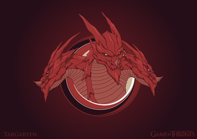 House of Targaryen Logo by MetGod
