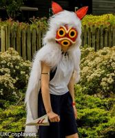 San (Princess Mononoke) by serensloth