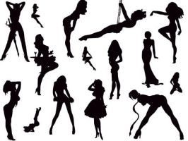 :sexy silhouettes2 by endlesssly
