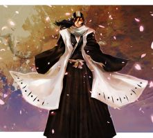 Bleach: Byakuya by Athena-chan