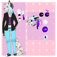 This time I might just disappear  ( ref sheet ) by vocloidlover
