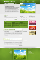 Wordpress Theme - Grass by HammHetfield