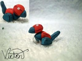137 Porygon by VictorCustomizer
