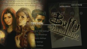 Buffy the Vampire Slayer Comic Dynamic Theme (PS3) by MrJuniorer