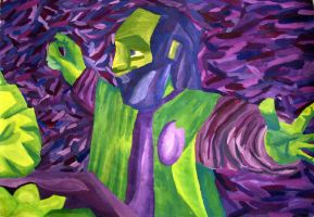 Green and Purple by Nicole12D