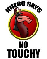 No Touchy by ajb3art