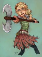 HTTYD Miss Astrid by curry23