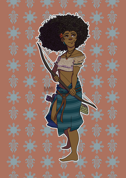 Filipino Merida by kamidoodles