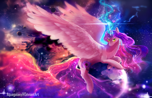 MLP C: Vivid darkness by AquaGalaxy