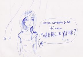Where is Alice? by JustJusti