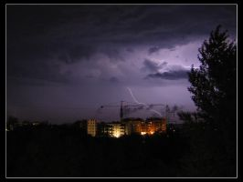 Stormy Night by Amnet