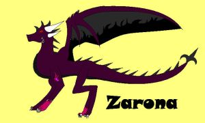 my new OC Zarona by Plazma-Reaper